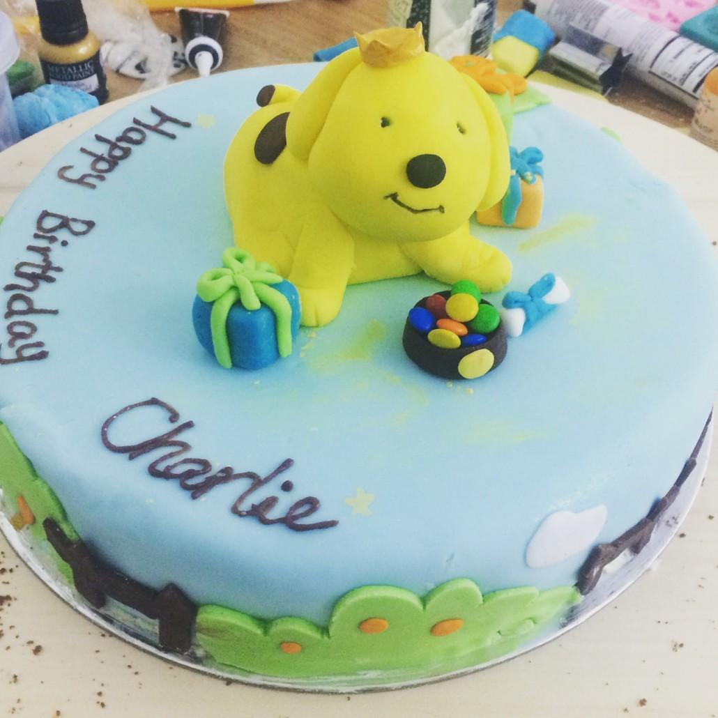 IMG_7377-1030x1030 Spot the Dog birthday cake for Charlie