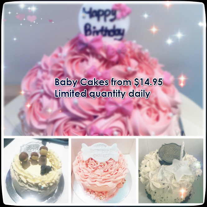BabyCake Baby Cake in-store daily limited quantity
