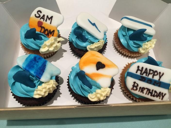 Surf-Theme-Custom-Cupcakes-705x529 Cupcake boxes