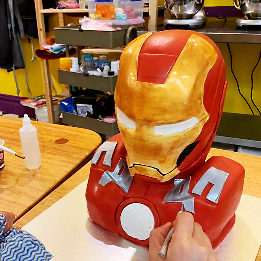 IMG_4831 An amazing Iron Man Cake made to order only