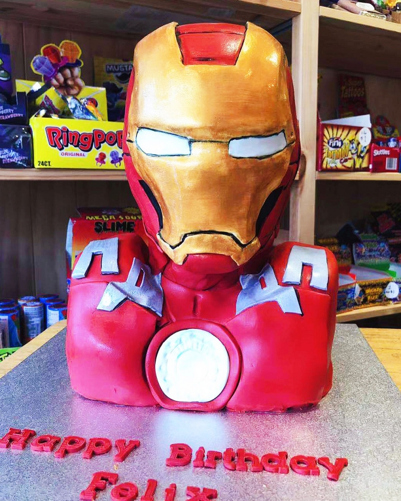 IMG_4842-824x1030 An amazing Iron Man Cake made to order only