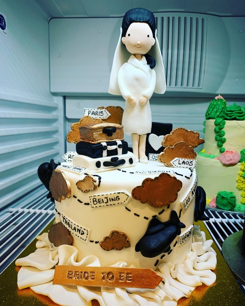 Bridal Shower Custom Cake