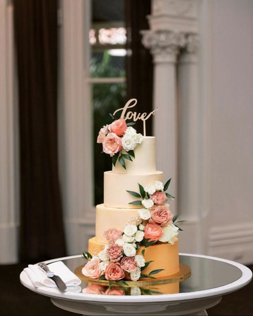 Floral Wedding Tower